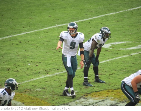 'Nick Foles calling a play vs the Redskins' photo (c) 2012, Matthew Straubmuller - license: http://creativecommons.org/licenses/by/2.0/