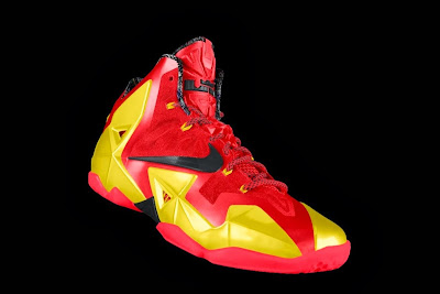 nike lebron 11 id allstar 2 10 gumbo Nike Unleashed Endless Possibilities with LeBron 11 Gumbo iD!