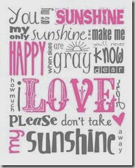 you-are-my-sunshine-typography