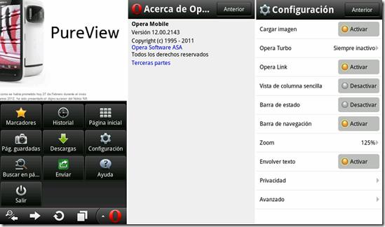 Opera 12 Mobile