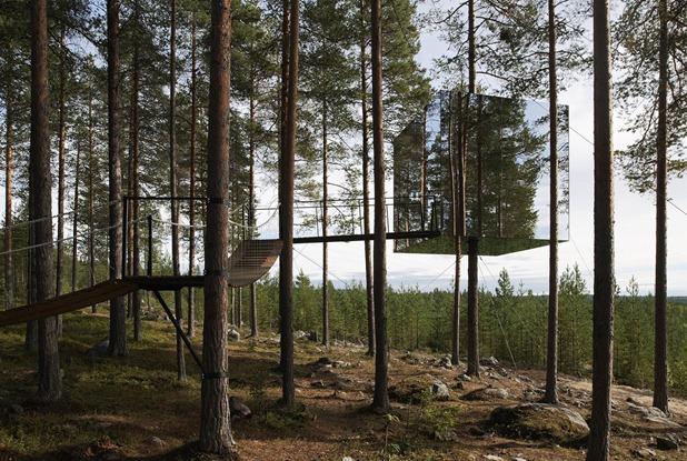 tree hotel by tham & videgard arkitekter 1