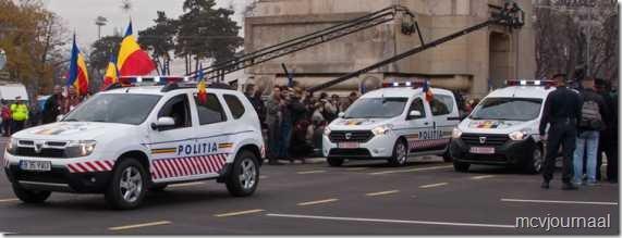 Dacia toont nieuwe modellen aan de overheid 03