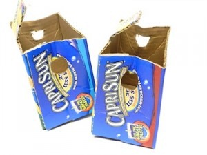 Capri Sun Box Purse Tutorail