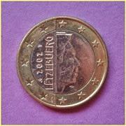 Luxemburgo 1 Euro
