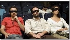 Acessibilidade e televisão combinam? Pessoas em uma plateia com olhos vendados