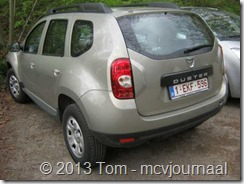 Dacia Duster in Belgie 01