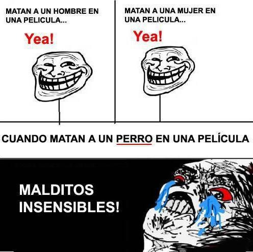 ¡Malditos insensibles!