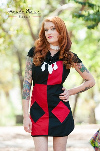 Harley Quinn Apron from HauteMessThreads
