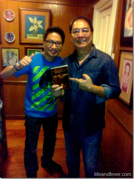 Stanley Chi and Joey de Leon