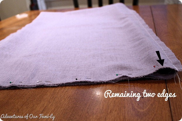 sewing scarf tutorial