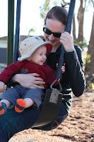 Swings with Mummy