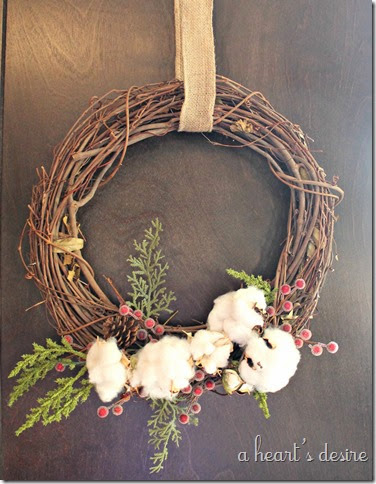 Second Cotton Wreath