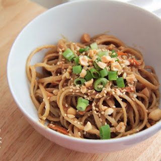 Sesame Noodles with Peanut Sauce