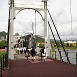delftsebrug at huis ten bosch in Sasebo, Nagasaki, Japan
