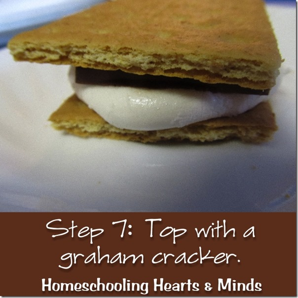 Anytime S'Mores…from Your Toaster Oven!  How-to at Homeschooling Hearts & Minds