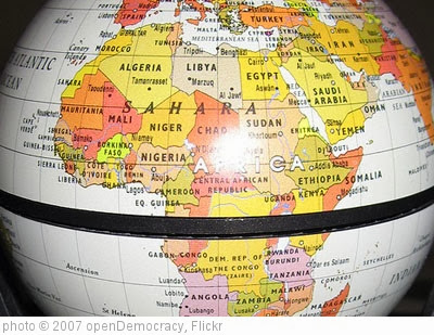 'africa-globe' photo (c) 2007, openDemocracy - license: http://creativecommons.org/licenses/by-sa/2.0/