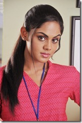 karthika_in_rose_dress