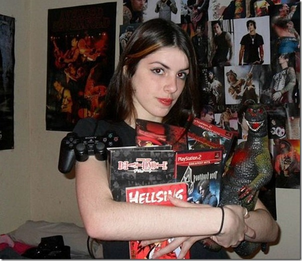 Lindas garotas viciados em video games (9)