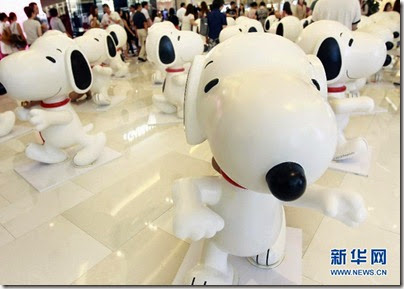 Snoopy Peanuts 65th Anniversary Shanghai Exhibition 史努比·花生漫畫65周年變.變.變.藝術展 01