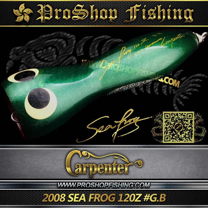 carpenter 2008 SEA FROG 120Z #G.B.5