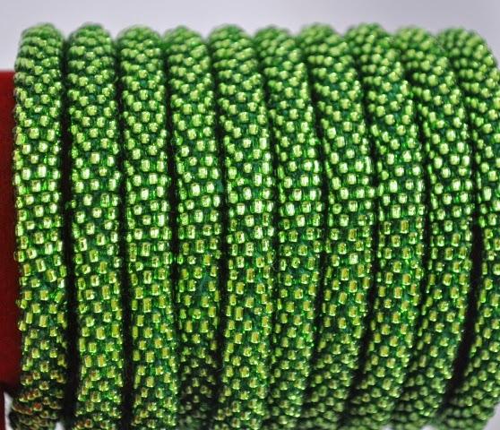 Rollover Shiny Green Bracelets