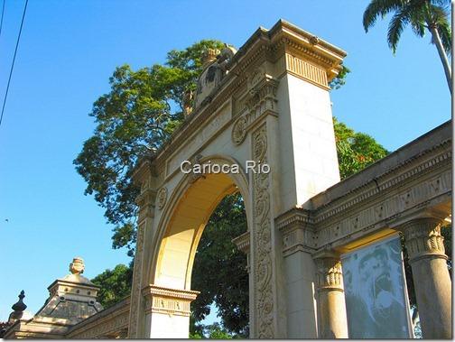 Portão do Jardim Zoológico do Rio de Janeiro
