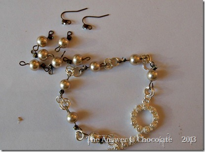 Pearl And Jump Ring Chain