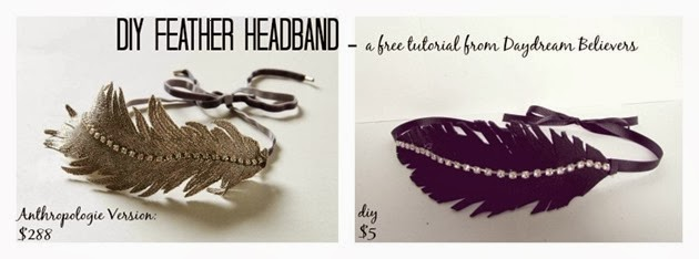 DIY Feather Headband a free tutorial