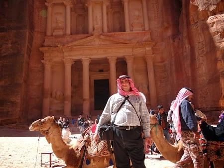 Obiective turistice Iordania: Cu o camila la Petra