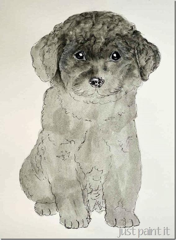 Poodle-Painting-D