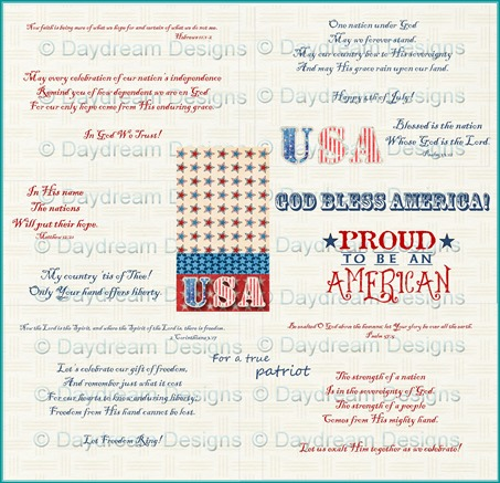 Americana Sentiment Set