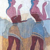 15.- Fresco de la procesión. Cnossos