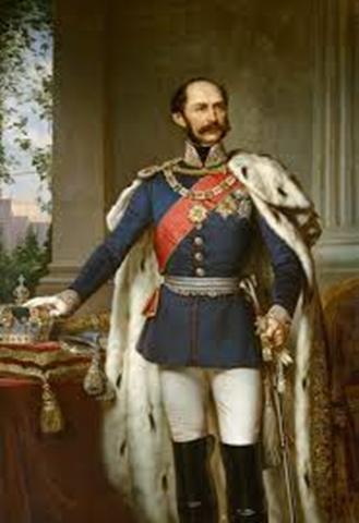 Retrato oficial del Rey Maximiliano II de Baviera (1811-1864); padre y predecesor de Luis II.