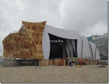 Copacabana está quase pronta para o réveillon