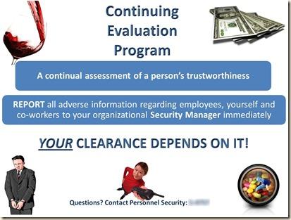 Continuing Evaluation Program banner