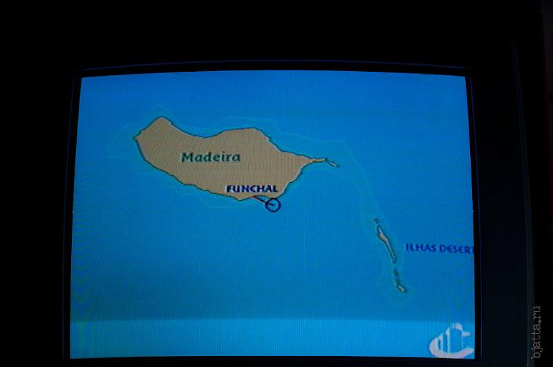 31. По возвращении в каюту снимаю карту. Канатная дорога. Фуншал. Мадейра. Португалия. Круиз на Costa ConCordia.