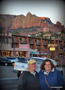 Tom & I in Sedona
