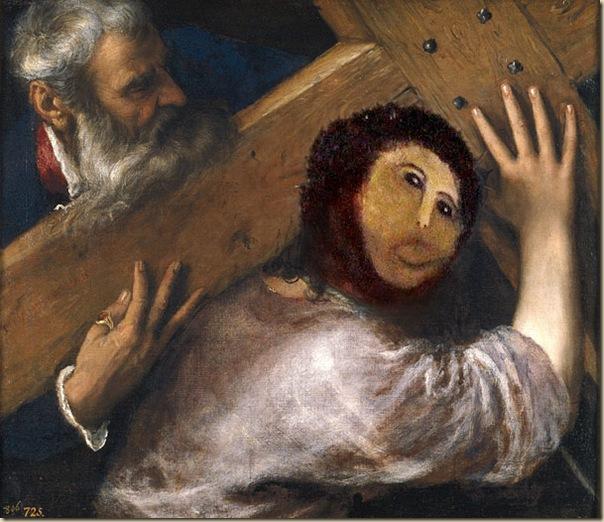 Ecce Homo  le Christ de Borja_parodie-restauration (5)