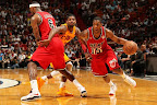 lebron james nba 130224 mia vs cle 03 LeBron Debuts Prism Xs As Miami Heat Win 13th Straight