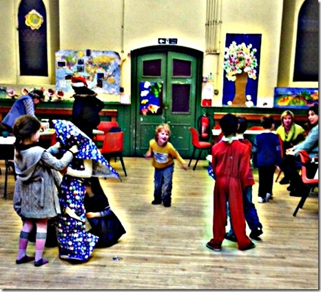 Christmas Party fun at St Paul's Camberley