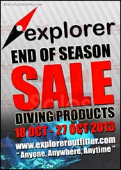 Explorer Outfitter End Season Warehouse Sale Clearance 2013 Malaysia Deals Offer Shopping EverydayOnSales