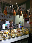 Cheeses and salumi