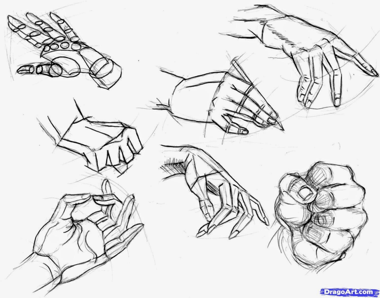 Favorito Tatuaggi e disegni: Come disegnare le mani facilmente SE77