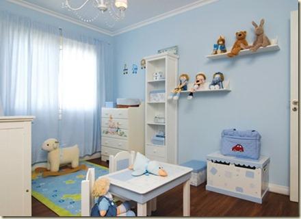 decoración de dormitorios de bebes-