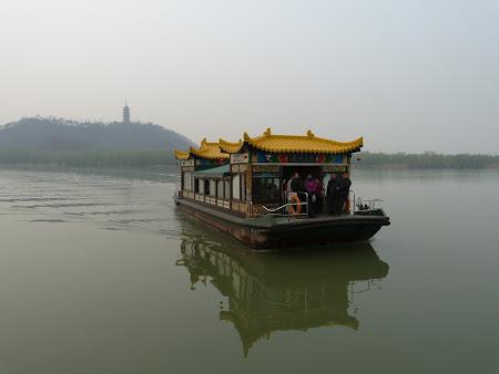 Obiective turistice Zhenjiang: Ferry spre Jiao Hill