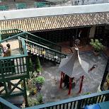 court yard of ghibli museum in Mitaka, Tokyo, Japan