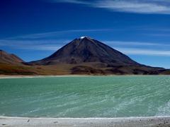 Laguna Verde and Volcan Licancabur (5900m), Southwestern Bolivia.