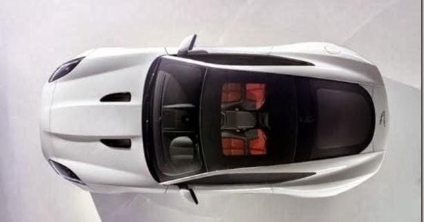 Jaguar revela primeiro teaser da versão fechada do F-Type