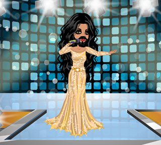 msp jenny xj9 conchita wurst na moviestarplanet msp. Black Bedroom Furniture Sets. Home Design Ideas