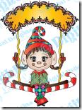 Swinging edwina elf